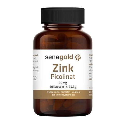 Senagold Zink Picolinat 30 mg, 60 Kapseln