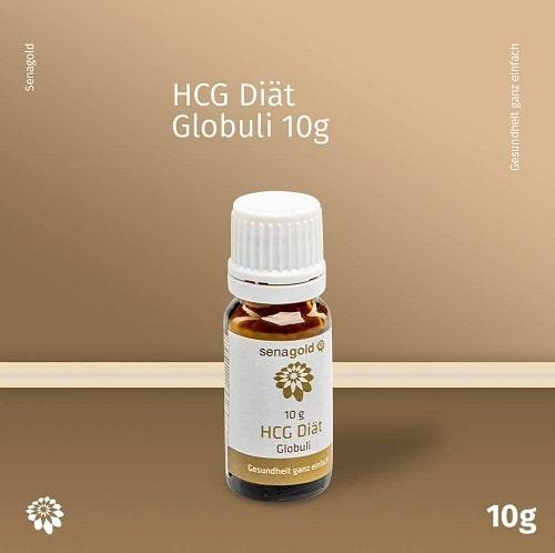 Senagold HCG Diät Globuli - lactosefrei - hormonfrei, 10 g