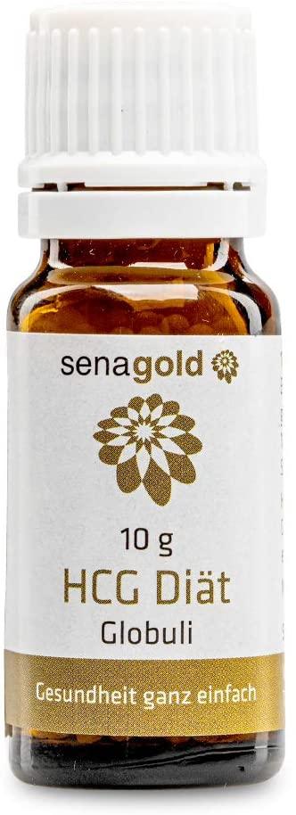 Senagold HCG Diät Globuli - lactosefrei - hormonfrei