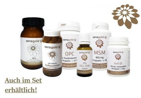 Senagold OPC Kapseln 190 mg Kapseln, 60 St