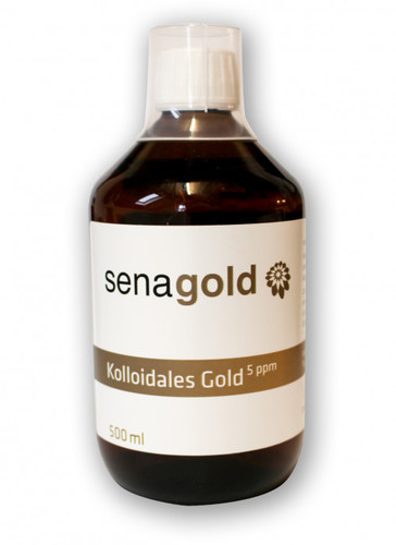 Senagold KOLLOIDALES Gold 5 ppm